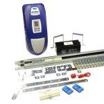 E.T.System GA100-11 Dc Blue Advanced Gdo Sectional 24V Batt 2 4 Button Transmitters