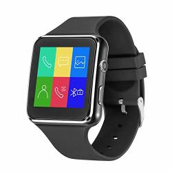ANCwear Smart Watch-bluetooth Smartwatch Touch Screen Wrist Watch With Camera sim Card Slot Waterproof Smart Watch Sports Fitness Tracker Watch Android Phone Watch Compatible With