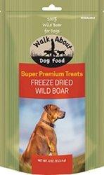 WALKABOUT PET TREATS Walkabout Freeze Dried Dog Treats Wild Boar 4 Oz