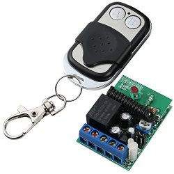 UHPPOTE 433MHZ 1CH Wireless Remote Control Switch Receiver Interlock Fixed Encoding