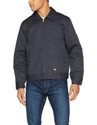 Dickies Men's Sportswear Dickies Men's Insulated Eisenhower Front-zip Jacket Charcoal 3X-LARGE REGULAR Charcoal 3X-LARGE REGULAR