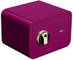 USA Wangjunxiu Safes Household Small Safe Fingerprint Password MINI Bedside All Steel In-wall Anti-theft Safe Box Invisible 25CM Fireproof Safe Safe Box