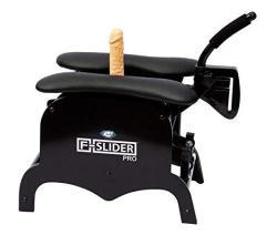 Cloud 9 Novelties F-slider Pro Heavy Duty Self Pleasuring Sliding Chair With Accessories Black