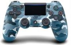 Sony Dualshock 4 Controller Blue Camo Retail Box 6 Month Warranty
