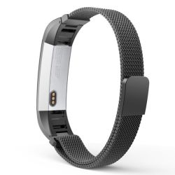 Replacement Fitbit Alta Hr Milanese Loop Band Size: S m - Black