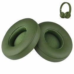 SOLO2 SOLO3 Earpads Replacement Parts Protein Leather Memory Foam Ear Muffs Cushions Cups Compatible With Beats By Dr. Dre Solo