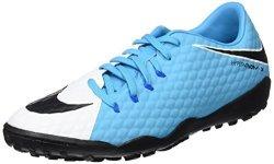 Nike Hypervenomx Phelon III Tf Mens Football Boots 852562 Soccer Cleats Us 9 White Black Photo Blue 104