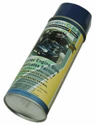 Compatible With 1949-1976 Cadillac Engine Motor Royal Blue High Temp Enamel Spray Paint 1 Can C-1-3