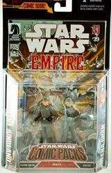 Action Figure Comic Packs Empire 39: Lt. Jundland & Lt. Shan
