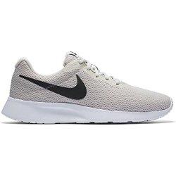 Nike Men's Tanjun Running Sneaker Light Bone black-white 9.5