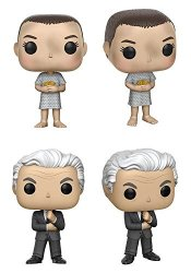 Vinyl Figure Funko Stranger Things Eleven with Suspenders Pop Includes Compatible Pop Box Protector Case