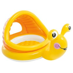 Intex - Lazy Snail Shade Baby Pool