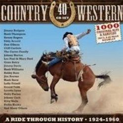 Country & Western - A Ride Through History 1924-1960 Cd Boxed Set