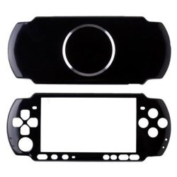 OSTENT Aluminum Hard Case Cover Shell Guard Protector Compatible For Sony Psp 3000 Slim Console Color Black