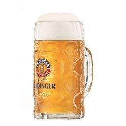 Erdinger German Dimpled Beer Stein Mug 0.5 Liter