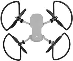 USA Anbee Mavic MINI Propeller Guard Props Protector With Extended Landing Gears 4PCS SET Black