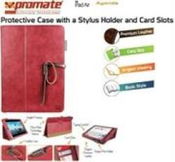 Promate Agenda Premium Protective Leather Case With Stylus Holder