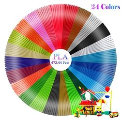 Philonext Direct Philonext 3D PEN 3D Printer Filament Pla 3D Pen Printer Filament Refills 24 Color