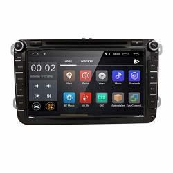 8 Android 8.1 Quad Core In Dash 2 Din Navigation Car Stereo DVD Player For Vw Volkswagen Jetta Golf 5 6 Skoda Passat