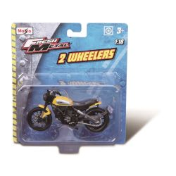 2-WHEELERS Motorcycles 1:18 Scale