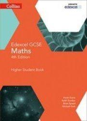 Edexcel Gcse Maths Higher Student Book Paperback 4th Revised Edition
