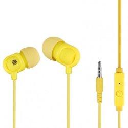 Bounce Jive Earphones With Mic in Yellow