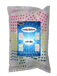 Medley Hills Farm Necco Candy Buttons 1.25 Lbs 3 Flavors Bulk 75 Plus Strips