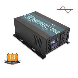 Wzrelb Backup Power Off Grid Pure Sine Wave Inverter 800W 24VDC To 120VAC 60HZ Usa Outlets Power Converter RBP80024B1