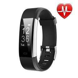 LETSCOM Fitness Tracker Hr Activity Tracker Watch With Heart Rate Monitor Waterproof Smart Fitness Band With Step Counter Calorie Counter Pedometer Watch For Kids