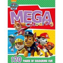 Paw Patrol - 120PG Mega Colour And Activity Book