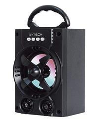 Bytech Universal Bluetooth Wireless LED Performance Surround Sound Speaker Black