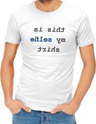 THIS Is My Selfie Shirt Womens T-Shirt White XS