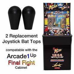 Retroarcade.us RA-JS-TOPBALL-1UP-KIT-2 ARCADE1UP Final Fight Rampage Jamma Mame 2 Joystick Bat Top Handles New