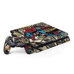 Marvel Spider-man PS4 Slim Bundle Skin - Spider-man Vintage Comic