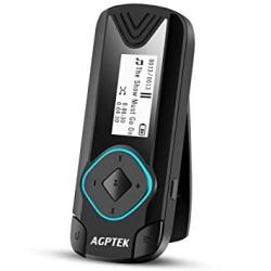 AGPtek Clip MP3 Player 8GB MINI Digital Music Player For Jogging Running  Gym Supports Up To 128GB Black R3 | R1360 00 | Handheld Electronics |