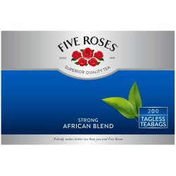 Five Roses African Blend Teabags 200'S