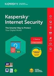 Kaspersky Internet Security Software 2018 1 DEVICE 1 Year Key Code