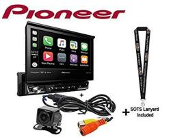 """Pioneer AVH3400NEX Single Din Multimedia Player With 7"""" Flip Out Screen With Backup Camera"""