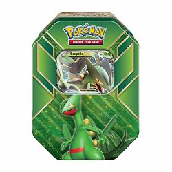 Pokemon Tcg: 2015 Legends Of Hoenn Power Summer Tin-sceptile-ex With 4 Booster Packs And Special Foil Card