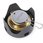 OUTAD Alcohol Stove Outdoor MINI Portable Burner For Backpacking Hiking Camping