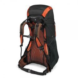 Osprey Exos 58 Backpack - Blaze Black Large