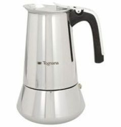 Tognana - Riflex Stainless Steel Coffee Maker - 10 Cups
