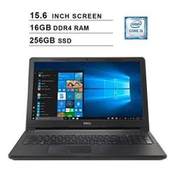 2019 Premium Flagship Dell Inspiron 15 3000 15.6 Inch HD Laptop Intel Core I5-7200U Up To 3.1GHZ 8GB DDR4 RAM 256GB SSD Wifi Bluetooth Windows 1