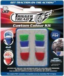 IMP Trigger Treadz Tt Custom Colour Kit: 8 Pack Set For PS4 Controller