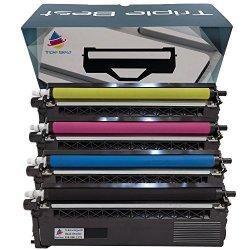 MyTriplebest MTB Mytriplebest Set Of 4 Compatible Laser Toner Cartridges For Brother TN336BK TN336C TN336M TN336Y High Yield Laser Toner Cartridges