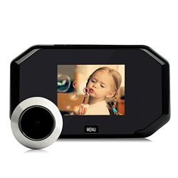 Occitop 3.0INCH Digital Peephole Viewer Lcd Doorbell Camera With 145 Degree