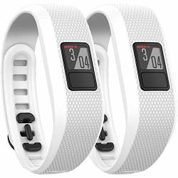Garmin Vivofit 3 Activity Tracker Fitness Band - Regular Fit 2X White 010-01608-01