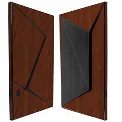Skinomi Dark Wood Full Body Skin Compatible With Nvidia Shield Tv 2015 Full Coverage Techskin Anti-bubble Film