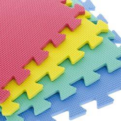 EVA TIME2PLAY Foam Puzzle Play Mat 9 Piece