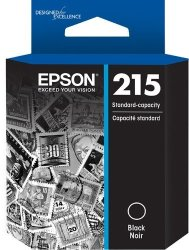 Epson T215 Standard-capacity Black Ink Cartridge